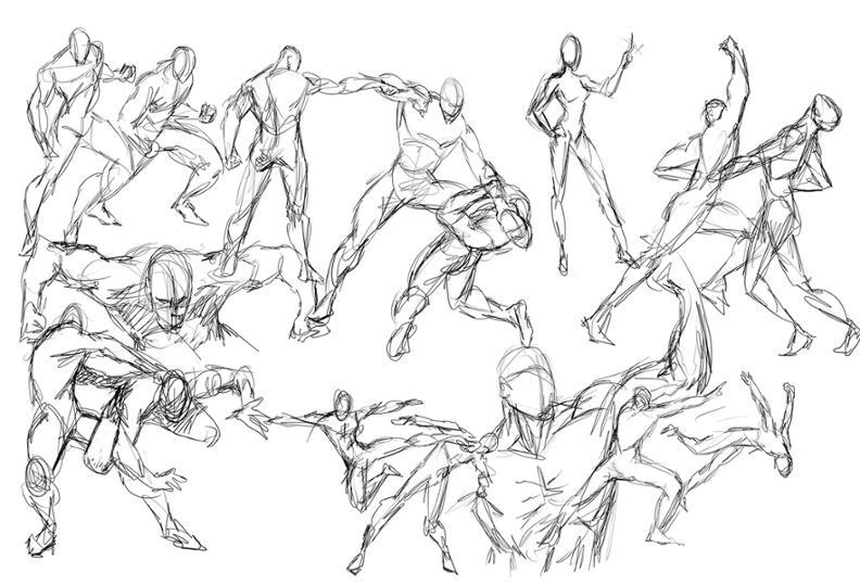 Gesture Drawing Bulb