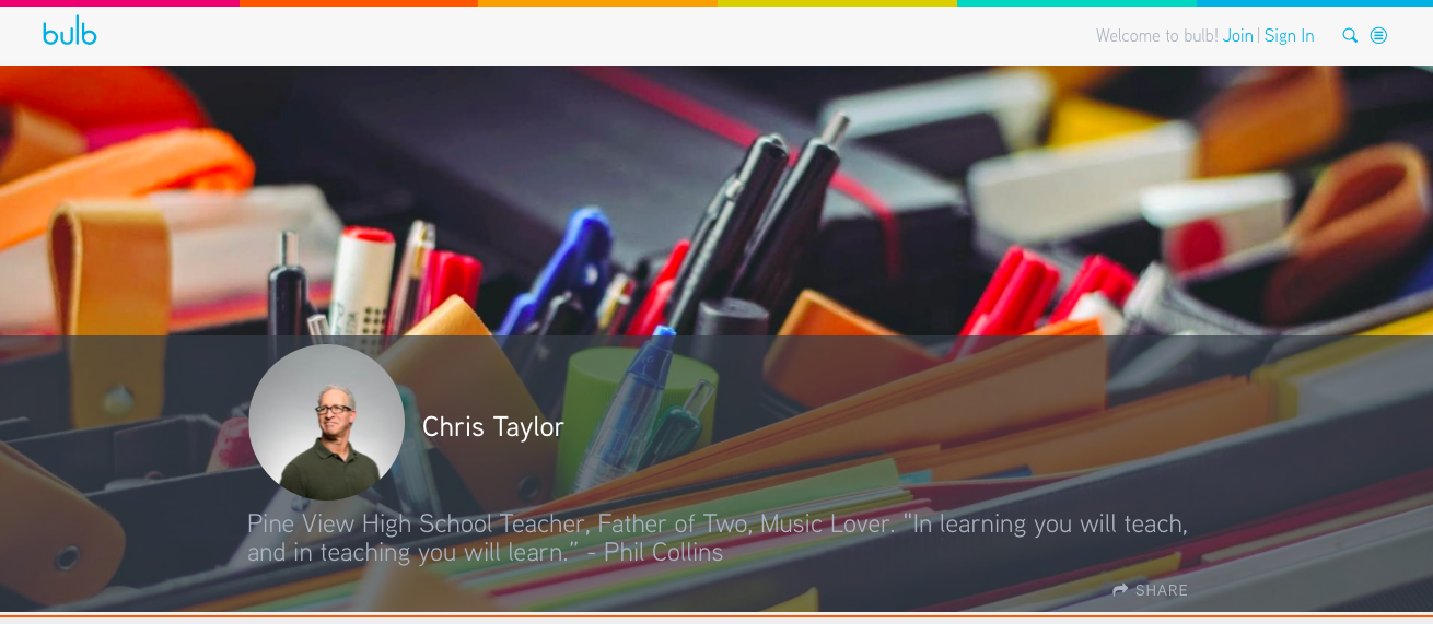Educator Portfolio Examples | bulb
