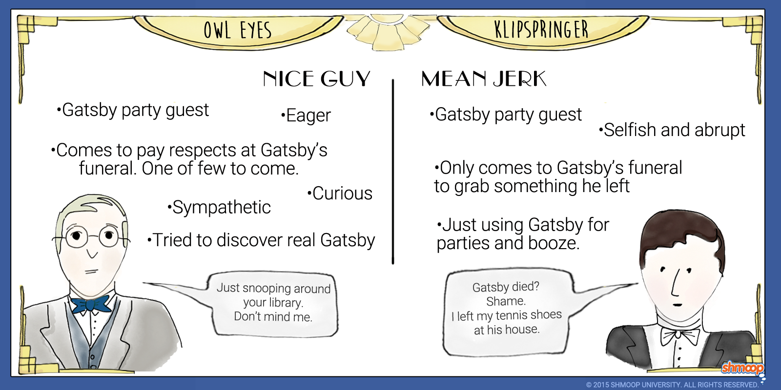 Characters In The Great Gatsby Bulb