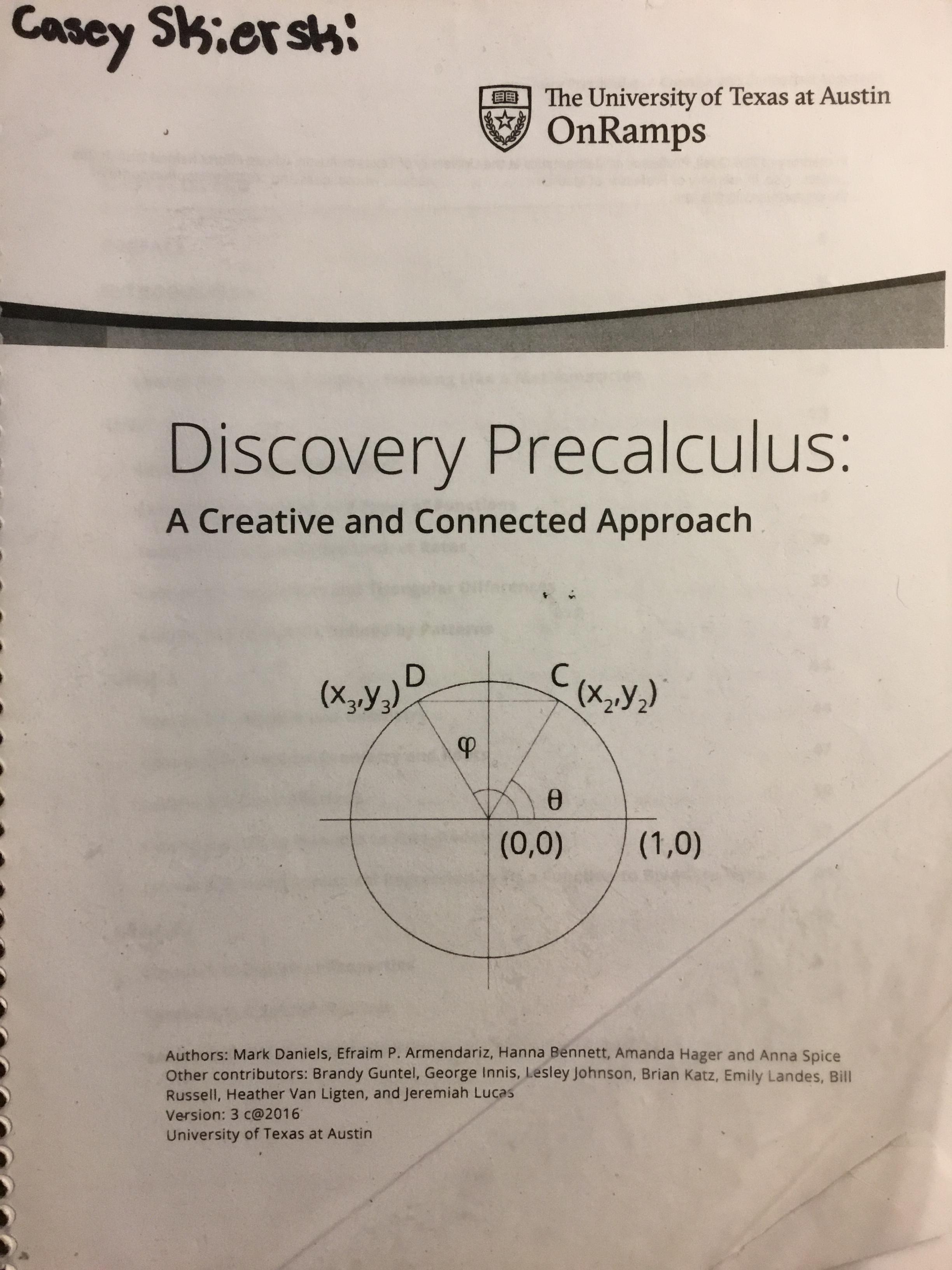 OnRamps Pre-Calculus   bulb