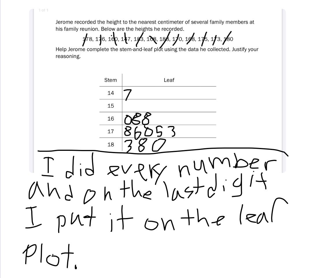 Stem and leaf plots  bulb With Regard To Stem And Leaf Plots Worksheet